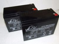 2x Leoch LP12-10H - Electric Bike Batteries